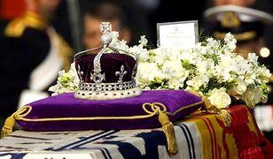 korona brytyjskiej królowej