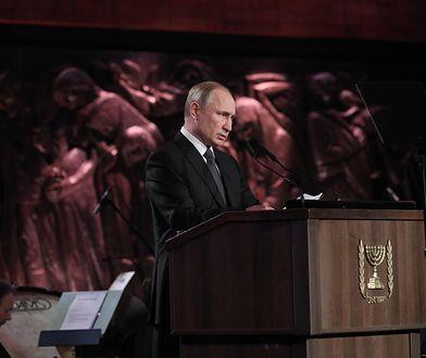 Jerozolima. Władimir Putin zaprezentował światu rosyjską narrację historyczną