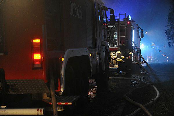 Pożar mieszkania w centrum Olsztyna