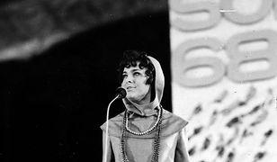 Irena Jarocka na festiwalu w Sopocie 1968