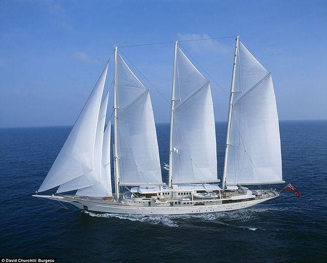Athena – czwarty największy na świecie jacht żaglowy jest na sprzedaż
