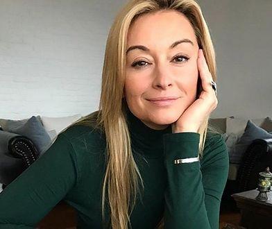 Martyna Wojciechowska czasy modowych eksperymentów ma za sobą.