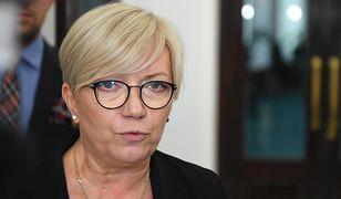 Julia Przyłębska skomentowała wyrok Europejskiego Trybunału Praw Człowieka