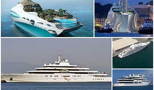 Największe, najbardziej luksusowe i najdroższe jachty na świecie