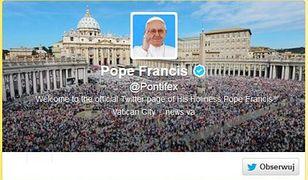 Chcesz dostać odpust? Obserwuj papieża na Twitterze!
