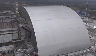 Zobacz, jak ogromna kopuła przykrywa zniszczony reaktor w Czarnobylu
