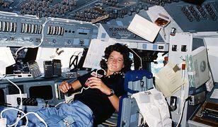 Sally Ride, pierwsza Amerykanka w Kosmosie