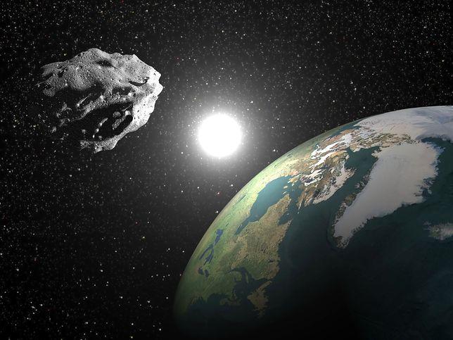 ESA ostrzega: asteroida może uderzyć w Ziemię 9 września
