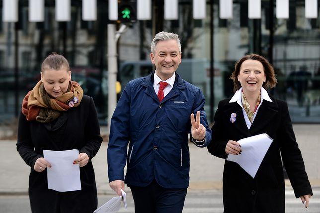 Robert Biedroń podtrzymuje, że nie zamierza objąć mandatu eurodeputowanego