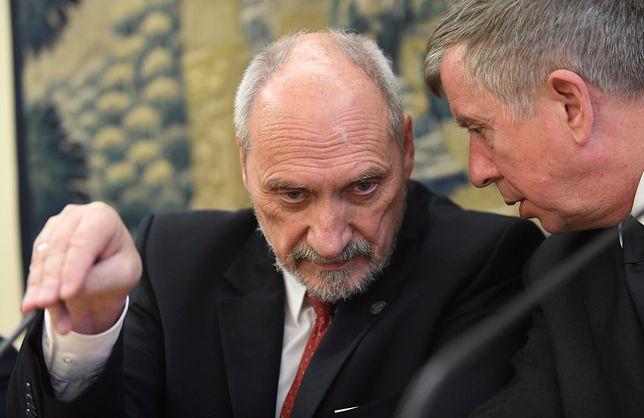 """Antoni Macierewicz nie widzi pozytywnych aspektów """"europejskości"""" Koalicji Europejskiej"""