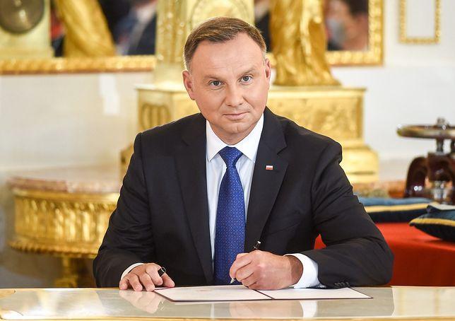 Andrzej Duda rozpoczął drugą kadencję
