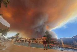 """Polscy turyści o pożarach w Turcji: """"Wielu pracowników hotelu straciło domy"""""""