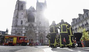 Francja. Pożar katedry w Nantes. Wolontariusz przyznał się do podpalenia