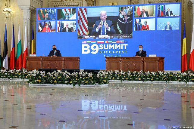 Andrzej Duda był jednym z gospodarzy wirtualnego szczytu B9
