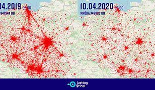 Podczas świąt Polacy zostali w domach. Kolosalna różnica w porównaniu z 2019 r.