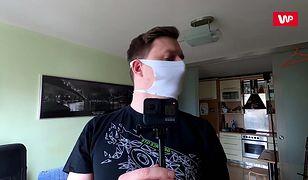 Nakaz zakrywania twarzy. Podpowiadamy, jak zrobić maseczkę domowymi metodami