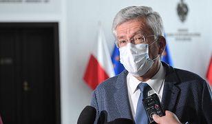Stanisław Karczewski nie stracił okazji, by pochwalić rząd Prawa i Sprawiedliwości