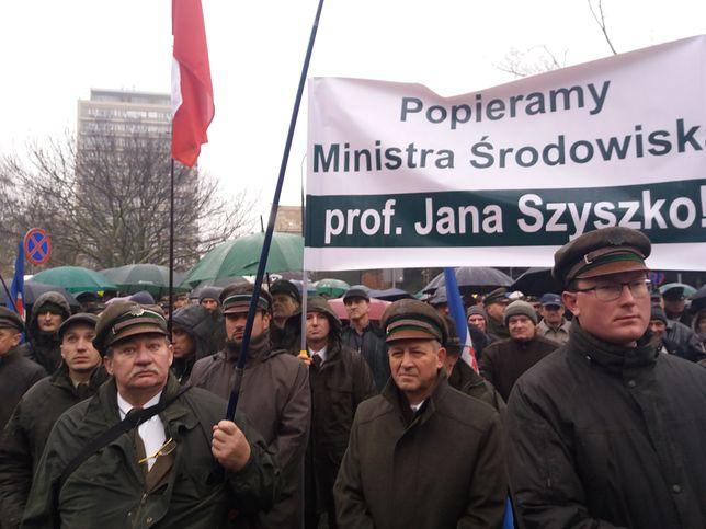 Wiec poparcia dla ministra Jana Szyszki