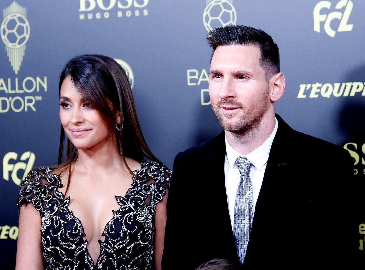 Messi z żoną