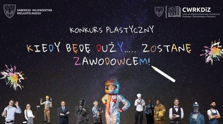 Influencerka pokazała plakat z konkursu w jednej z poznańskich szkół