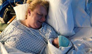 48-letnia Louise urodziła pierwsze dziecko.