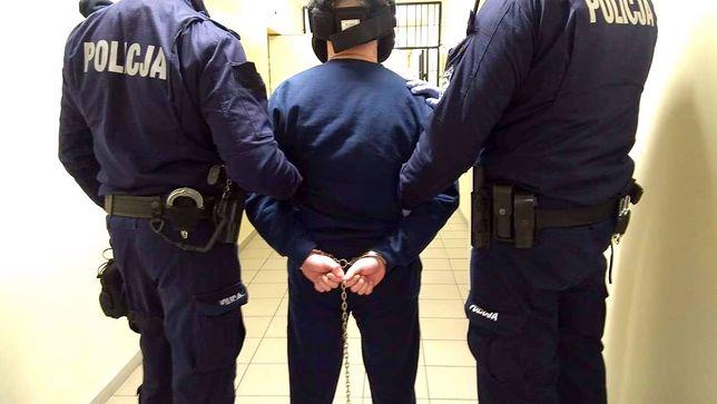 Policja zatrzymała 40-letniego nożownika