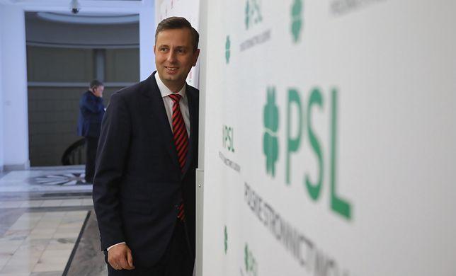 Prezes PSL-u Władysław Kosiniak-Kamysz