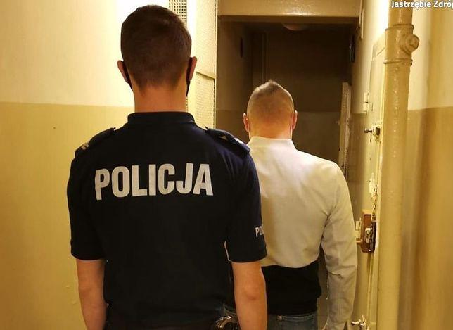 Śląsk. 32-letni mężczyzna jest podejrzany o znęcanie się nad swoją partnerką i jej 12-letnim synem w Jastrzębiu-Zdroju.