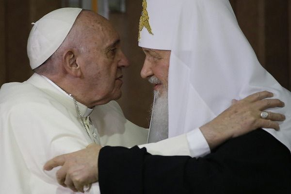 Cerkiew: spotkanie papieża z patriarchą opóźnione wydarzeniami na Ukrainie