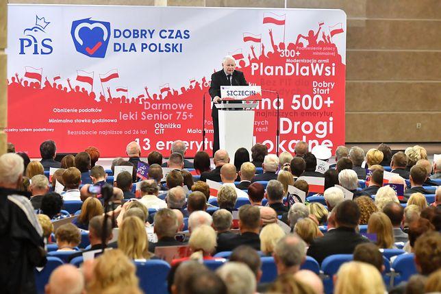 Jarosław Kaczyński na konwencji PiS: Chcieliśmy ważnego stanowiska, a nie błyszczeć na salonach