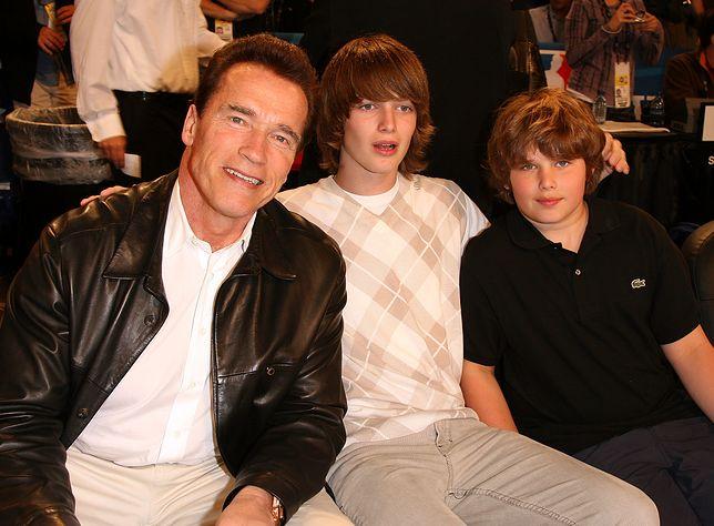 Christopher Schwarzenegger nie poszedł w ślady ojca. Od lat boryka się z nadwagą