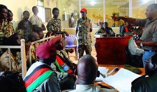 Jesse Onyango był menedżerem hotelu Terrain w Sudanie Południowym, w którym pomagano uchodźcom