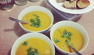 Zupa z selera i innych warzyw to zdrowy fit obiad