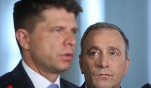 Ryszard Petru i Grzegorz Schetyna