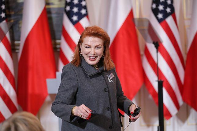 Georgette Mosbacher zabrała głos ws. polsko-izraelskiego konfliktu dyplomatycznego