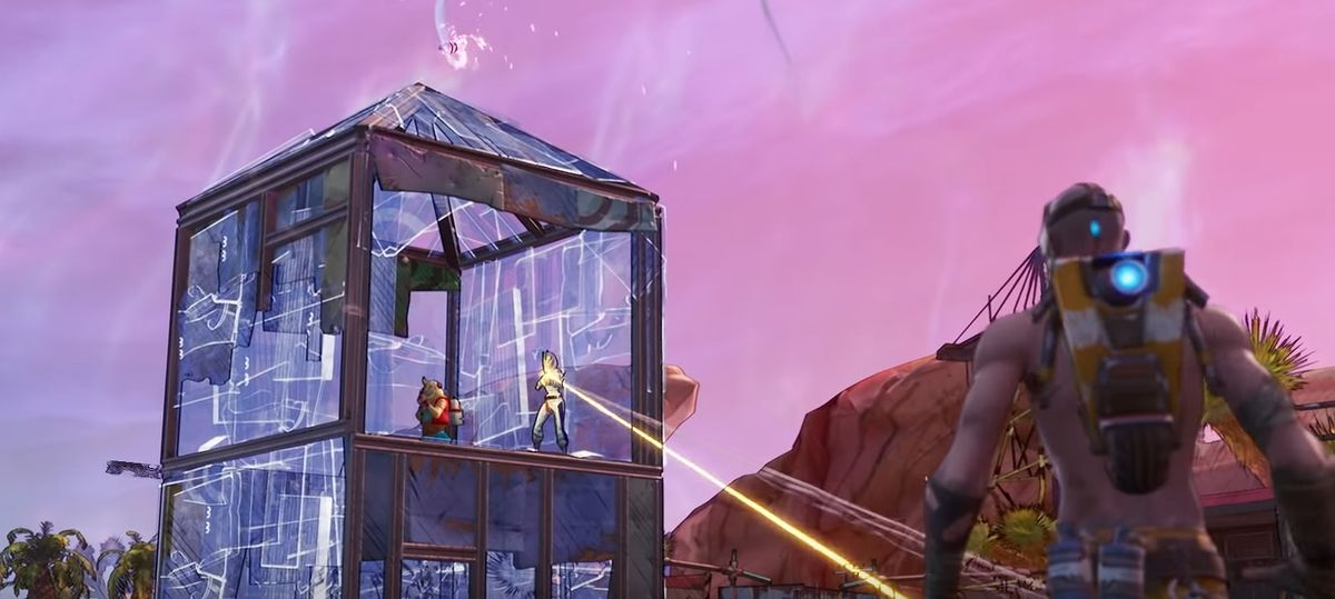 Fortnite i Borderlands zderzają się w nowej aktualizacji Fortnite X Mayhem