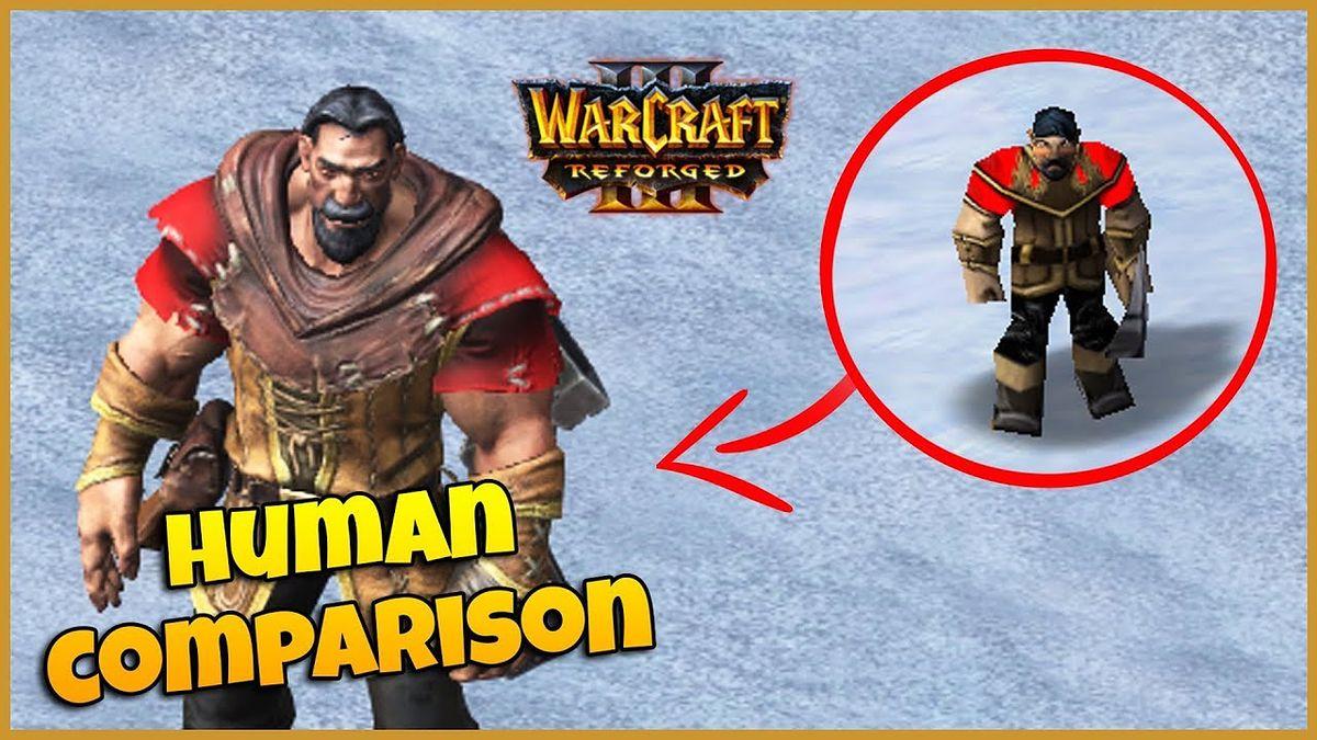 Warcraft III: Reforged. Fan przygotował bezpośrednie porównanie grafiki z oryginałem