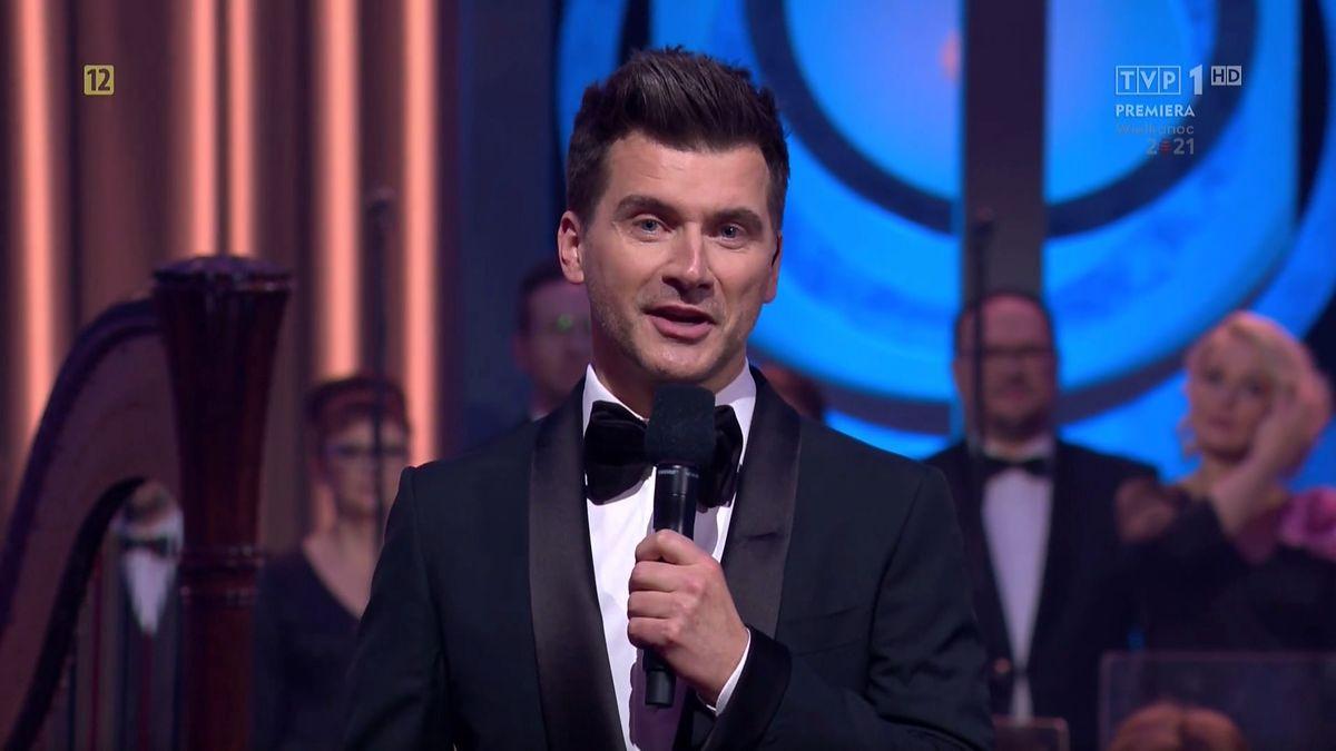Tomasz Kammel poprowadził koncert wielkanocny w TVP