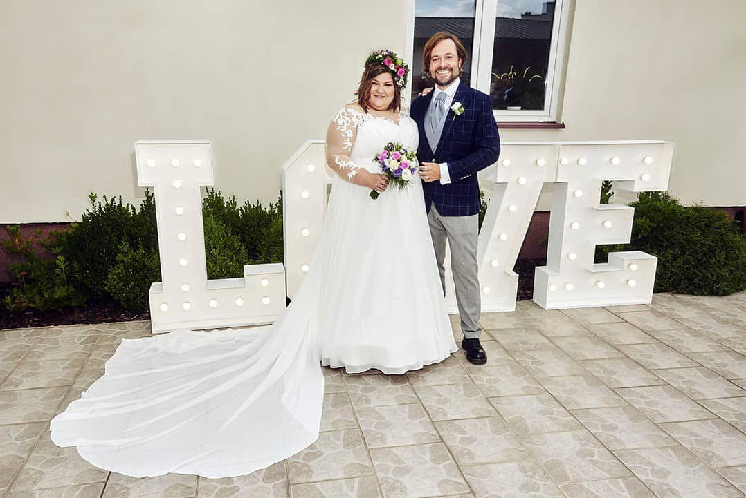 Dominika Gwit pokazała suknię ślubną. Wyglądała obłędnie!