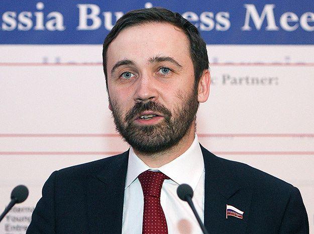 Nakaz aresztowania rosyjskiego deputowanego, który był przeciw aneksji Krymu
