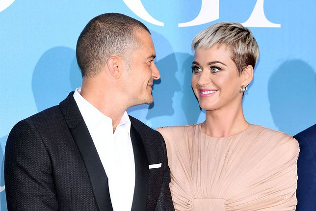 MONTE-CARLO, MONACO - SEPTEMBER 26:  26:  26:   Orlando Bloom and Katy Perry attend the Gala for the Global Ocean hosted by H.S.H. Prince Albert II of Monaco at Opera of Monte-Carlo on September 26, 2018 in Monte-Carlo, Monaco.  (Photo by Daniele Venturelli/Daniele Venturelli/ Getty Images)