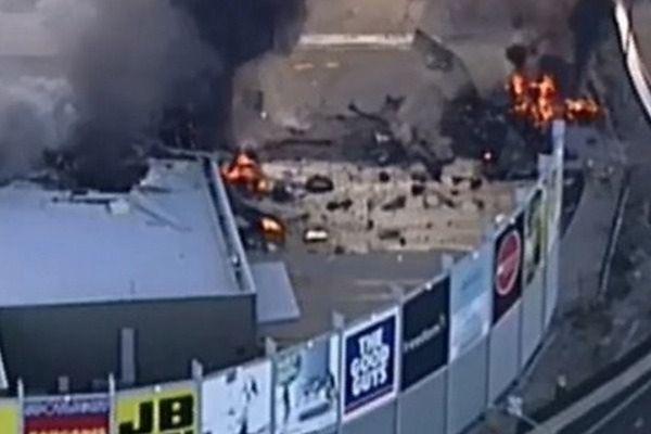 W Australii samolot spadł na centrum handlowe, prawdopodobnie wiele ofiar