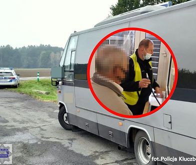 Pijany kierowca na trasie Kluczbork - Opole (Fot.: policja.gov.pl)