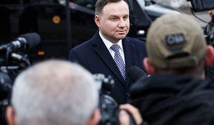 Prezydent Andrzej Duda będzie walczył o drugą kadencję.