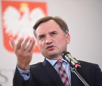 Zbigniew Ziobro - minister sprawiedliwości i prokurator generalny