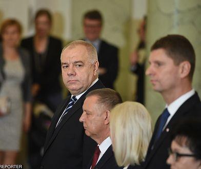 Nowo powołany wicepremier Jacek Sasin
