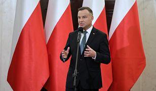 """Andrzej Duda podkreślił, iż odmawianie mu prawa do wystąpienia """"uderza w interes polskiego państwa"""""""
