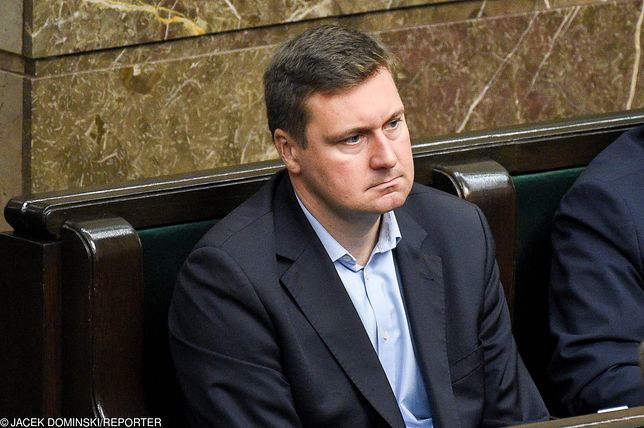 Poseł PiS Łukasz Zbonikowski wygrał w sądzie ze swoją byłą żoną Moniką