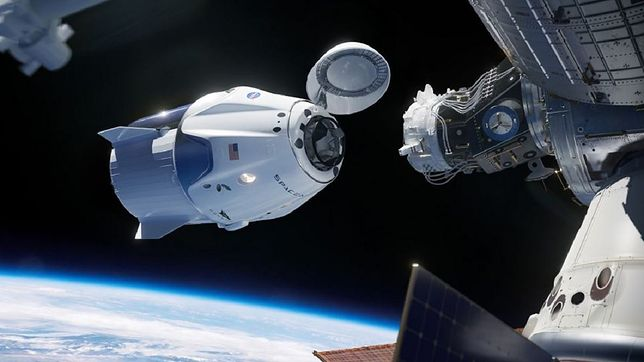 Historyczny lot SpaceX i NASA.