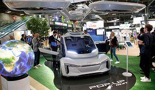 Prototyp latającego samochodu wyprodukowany przez Airbus oraz Audi